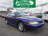 1995 Sapphire Blue Metallic Ford Mustang GT Convertible #56398414