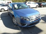 2010 Sport Blue Metallic Ford Fusion SEL V6 #56398129
