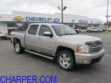 2008 Silver Birch Metallic Chevrolet Silverado 1500 LTZ Crew Cab 4x4 #56398399