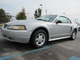 2000 Silver Metallic Ford Mustang V6 Coupe #56398398
