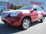 2012 Cayenne Red Nissan Rogue S Special Edition #56398112
