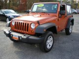 2011 Mango Tango Pearl Jeep Wrangler Sport 4x4 #56397791