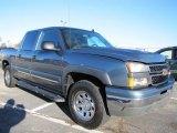 2006 Blue Granite Metallic Chevrolet Silverado 1500 LT Crew Cab 4x4 #56398104