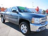 2012 Blue Granite Metallic Chevrolet Silverado 1500 LT Crew Cab 4x4 #56398102