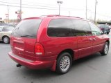 1999 Chrysler Town & Country Candy Apple Red Metallic