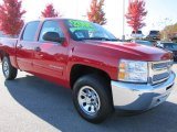 2012 Victory Red Chevrolet Silverado 1500 LS Crew Cab 4x4 #56398101