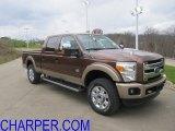 2012 Golden Bronze Metallic Ford F250 Super Duty King Ranch Crew Cab 4x4 #56397781