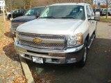 2012 Silver Ice Metallic Chevrolet Silverado 1500 LT Crew Cab 4x4 #56397745