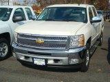 2012 White Diamond Tricoat Chevrolet Silverado 1500 LT Crew Cab 4x4 #56397736