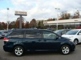 2011 South Pacific Blue Pearl Toyota Sienna LE #56398075