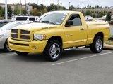 2005 Solar Yellow Dodge Ram 1500 SLT Regular Cab 4x4 #56398332