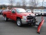 2012 Chevrolet Silverado 3500HD WT Regular Cab 4x4 Plow Truck Data, Info and Specs