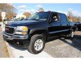 2005 Onyx Black GMC Sierra 1500 Z71 Crew Cab 4x4 #56398315