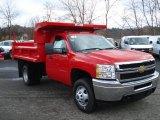 2012 Chevrolet Silverado 3500HD WT Regular Cab 4x4 Dump Truck Data, Info and Specs