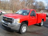 2011 Chevrolet Silverado 2500HD Regular Cab Chassis Data, Info and Specs