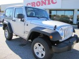 2012 Bright Silver Metallic Jeep Wrangler Sport 4x4 #56398034