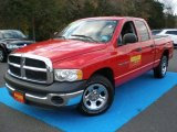 2003 Flame Red Dodge Ram 1500 ST Quad Cab #56398021