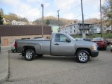 2007 Graystone Metallic Chevrolet Silverado 1500 LS Regular Cab #56398254