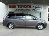 2012 Predawn Gray Mica Toyota Sienna LE #56451531