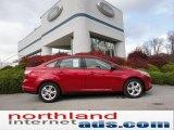 2012 Red Candy Metallic Ford Focus SE Sport Sedan #56451517