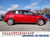 2012 Red Candy Metallic Ford Focus SE Sport 5-Door #56451515