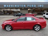 2010 Sangria Red Metallic Ford Fusion Sport #56451646