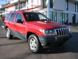2000 Jeep Grand Cherokee Flame Red
