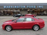 2010 Sangria Red Metallic Ford Fusion SEL #56451637