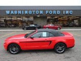 2011 Race Red Ford Mustang V6 Premium Convertible #56451633