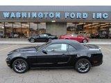 2011 Ebony Black Ford Mustang V6 Premium Convertible #56451632