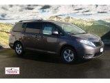 2012 Predawn Gray Mica Toyota Sienna LE #56451454