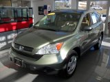 2009 Green Tea Metallic Honda CR-V LX 4WD #56451725