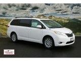 2012 Super White Toyota Sienna XLE AWD #56451449