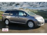 2012 Predawn Gray Mica Toyota Sienna Limited AWD #56451448