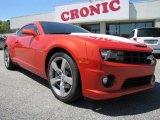 2010 Inferno Orange Metallic Chevrolet Camaro SS Coupe #56451596