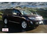 2012 Sizzling Crimson Mica Toyota Highlander Hybrid Limited 4WD #56451430