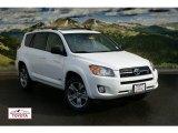 2011 Super White Toyota RAV4 V6 Sport 4WD #56451427