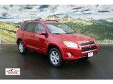 2011 Barcelona Red Metallic Toyota RAV4 V6 Limited 4WD #56451424