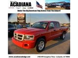 2010 Flame Red Dodge Dakota Big Horn Crew Cab #56451578