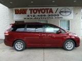 2012 Salsa Red Pearl Toyota Sienna XLE #56451533