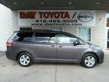 2012 Predawn Gray Mica Toyota Sienna LE #56451532