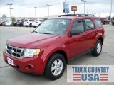 2009 Sangria Red Metallic Ford Escape XLS #56481340