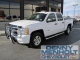 2008 Summit White Chevrolet Silverado 1500 LT Crew Cab 4x4 #56481332