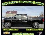 2012 Black Chevrolet Silverado 1500 LT Extended Cab 4x4 #56481488