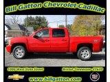 2012 Victory Red Chevrolet Silverado 1500 LT Crew Cab 4x4 #56481486