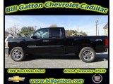 2012 Black Chevrolet Silverado 1500 LT Extended Cab 4x4 #56481483