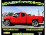 2012 Victory Red Chevrolet Silverado 1500 LT Extended Cab 4x4 #56481481