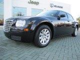 2008 Brilliant Black Crystal Pearl Chrysler 300 LX #56481140