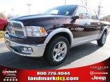 2012 Deep Molten Red Pearl Dodge Ram 1500 Laramie Crew Cab #56481135
