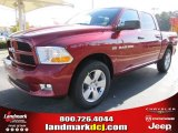 2012 Deep Cherry Red Crystal Pearl Dodge Ram 1500 Express Crew Cab #56481134